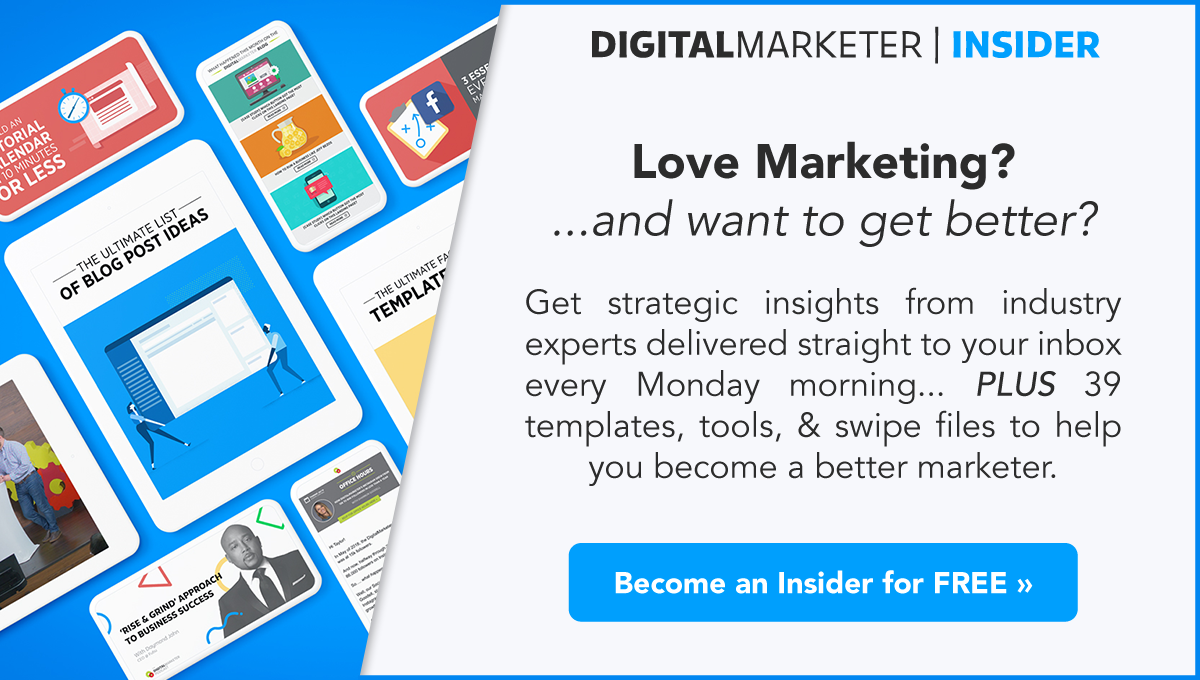 Get Free Access to DigitalMarketer's Training Library