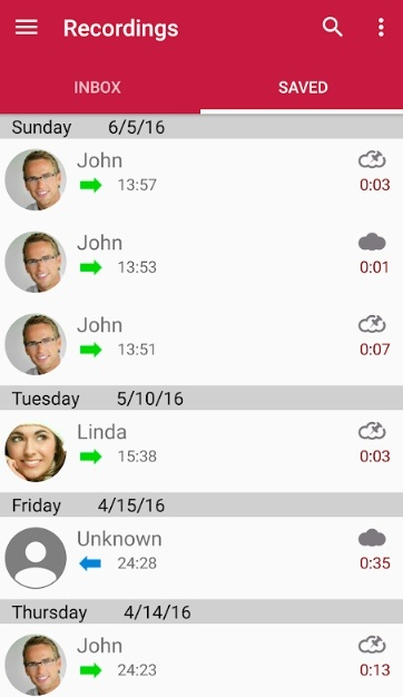 automatic call recorder: call recording
